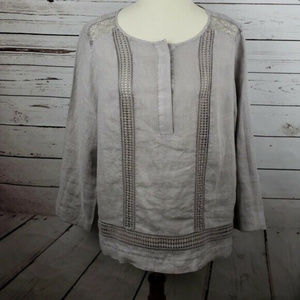 Artisan NY XL Woman's Fashion Blouse Long Sleeves